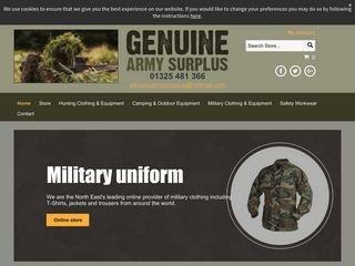 genuinearmysurplus.co.uk-logo