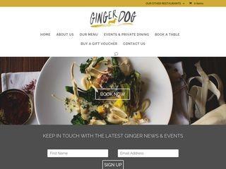 thegingerdog.com-logo