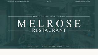 melroserestaurant.co.uk-logo