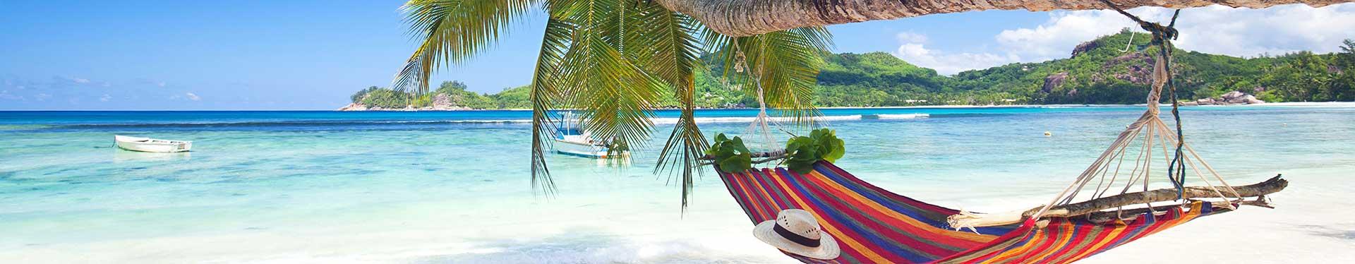 Hammock on the Beach in the Caribbean
